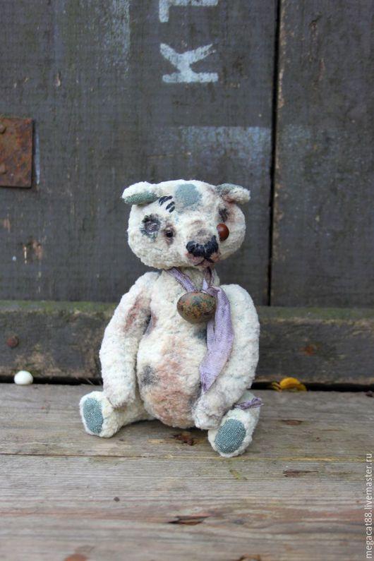 Мишки Тедди ручной работы. Ярмарка Мастеров - ручная работа. Купить Мишка тедди тортюр Фёст. Handmade. Белый