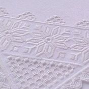 Для дома и интерьера handmade. Livemaster - original item Napkin track on the table snowflake.Hand embroidery.Table linen.. Handmade.