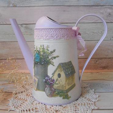 Цветы и флористика ручной работы. Ярмарка Мастеров - ручная работа Лейка ваза для цветов. Handmade.
