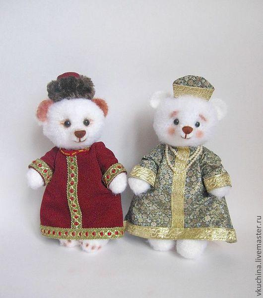 Игрушки животные, ручной работы. Ярмарка Мастеров - ручная работа. Купить Мишки Царь и Царица. Handmade. Белый, мишка