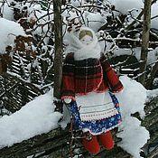 Народная кукла ручной работы. Ярмарка Мастеров - ручная работа Кукла в зимней одежде.. Handmade.