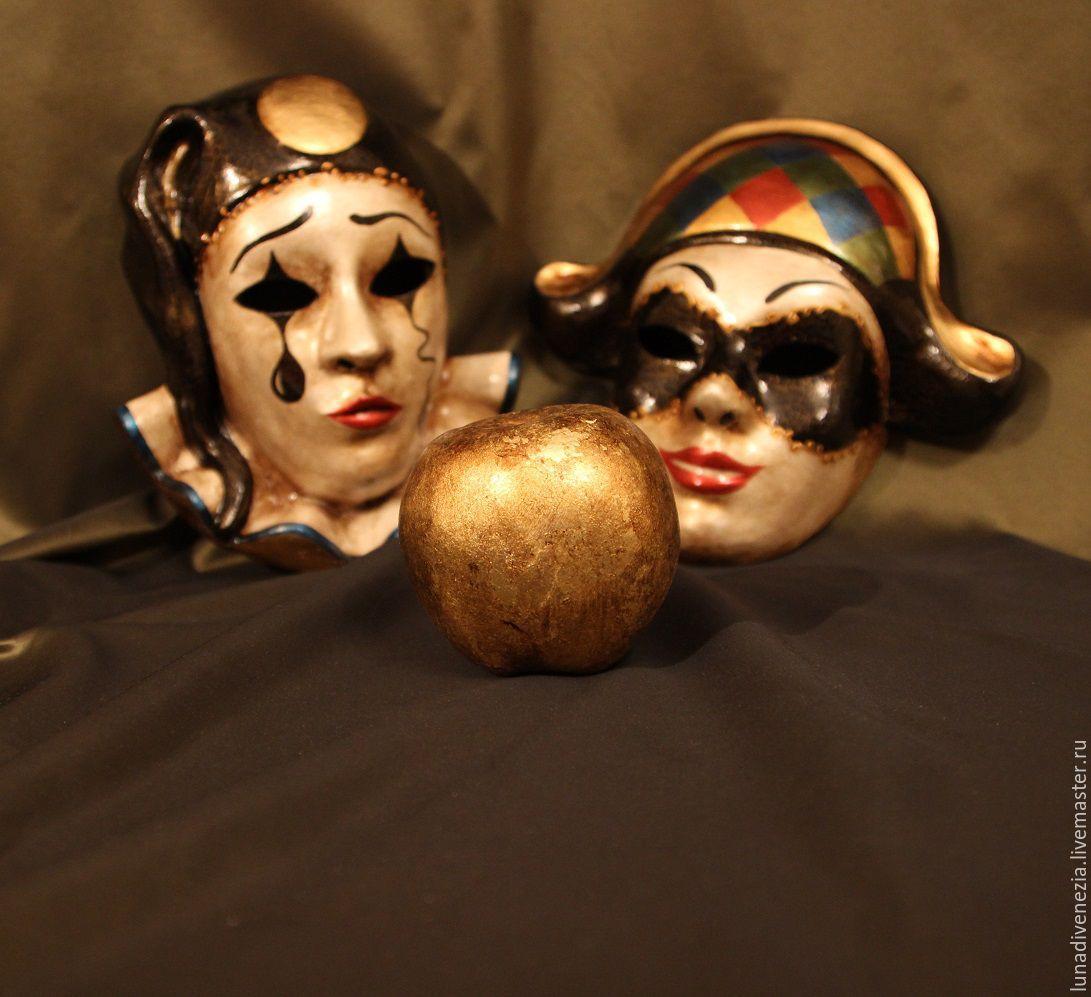 Маски венецианские Пьеро и Арлекино (пара) – купить в ... - photo#5