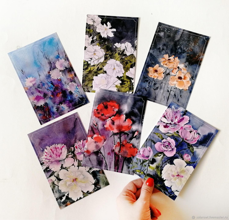 Цветы, Открытки, Новосибирск,  Фото №1