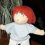 Куклы и игрушки ручной работы. Ярмарка Мастеров - ручная работа Вальдорфская кукла кукла Захарка. Handmade.