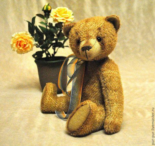 """Мишки Тедди ручной работы. Ярмарка Мастеров - ручная работа. Купить Мишка """"Винтажный"""" Крем-Ваниль. Handmade. Желтый, мишки"""