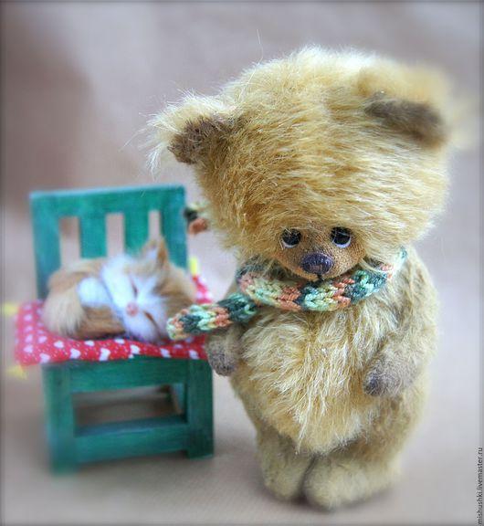 Мишки Тедди ручной работы. Ярмарка Мастеров - ручная работа. Купить Рыжик. Handmade. Рыжий, авторская игрушка