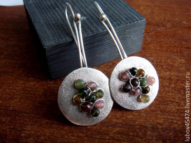 Earrings from silver 925, Earrings, Lyubertsy,  Фото №1