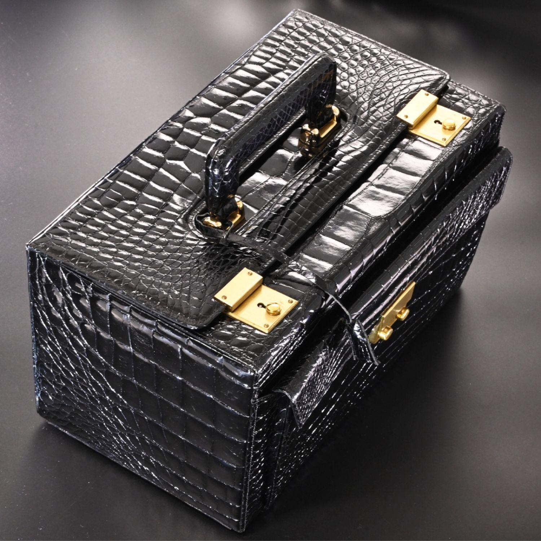 Винтаж: Bally роскошная ретро сумка из кожи крокодила, Сумки винтажные, Кобе,  Фото №1