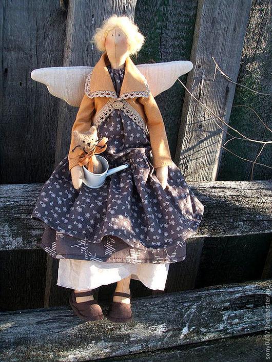 Куклы Тильды ручной работы. Ярмарка Мастеров - ручная работа. Купить Серафима для Ольги. Handmade. Бохо, бохостиль, фея тильда