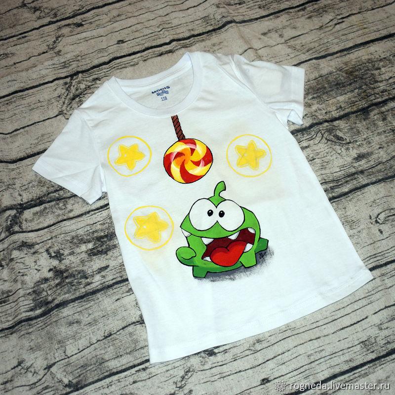 Cut the Rope  - детская футболка (0927)