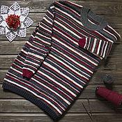 """Одежда ручной работы. Ярмарка Мастеров - ручная работа Джемпер """"Бабушка связала"""". Handmade."""