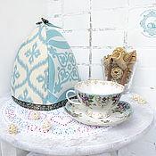 Для дома и интерьера ручной работы. Ярмарка Мастеров - ручная работа Грелка Зимние узоры. Handmade.