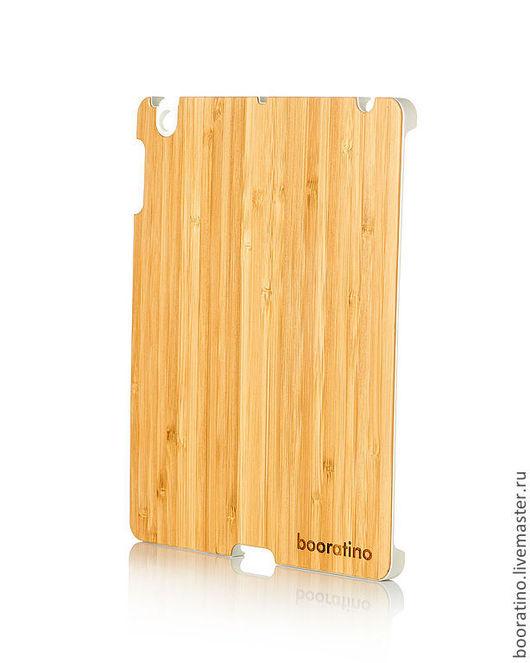 Для телефонов ручной работы. Ярмарка Мастеров - ручная работа. Купить Деревянный чехол-бампер для iPad (белый). Handmade. Чехол