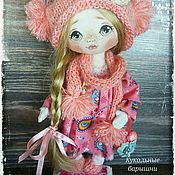 Куклы и игрушки ручной работы. Ярмарка Мастеров - ручная работа Куколка в розовом. Handmade.