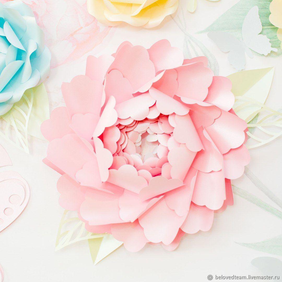 Тюльпанов корзине, бумажные цветы на заказ алматы