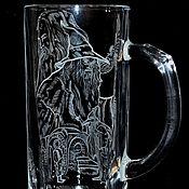 Посуда handmade. Livemaster - original item Gandalf. Beer mug.. Handmade.