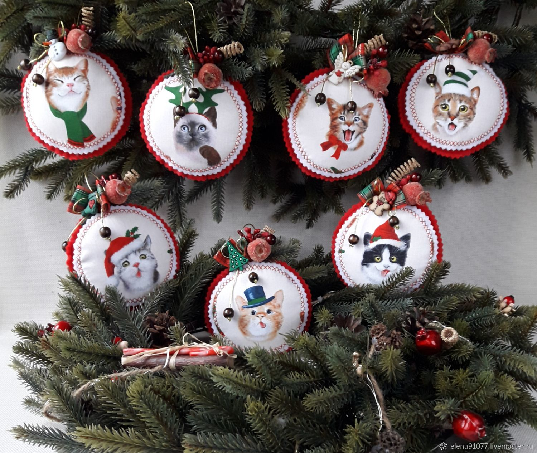 New Year 2019 handmade. Livemaster - handmade. Buy Christmas decorations.