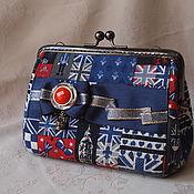 Сумки и аксессуары handmade. Livemaster - original item Wallet-cosmetic bag with clasp