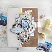 Фотоальбомы ручной работы. Ярмарка Мастеров - ручная работа Альбом для фотографий. Handmade.
