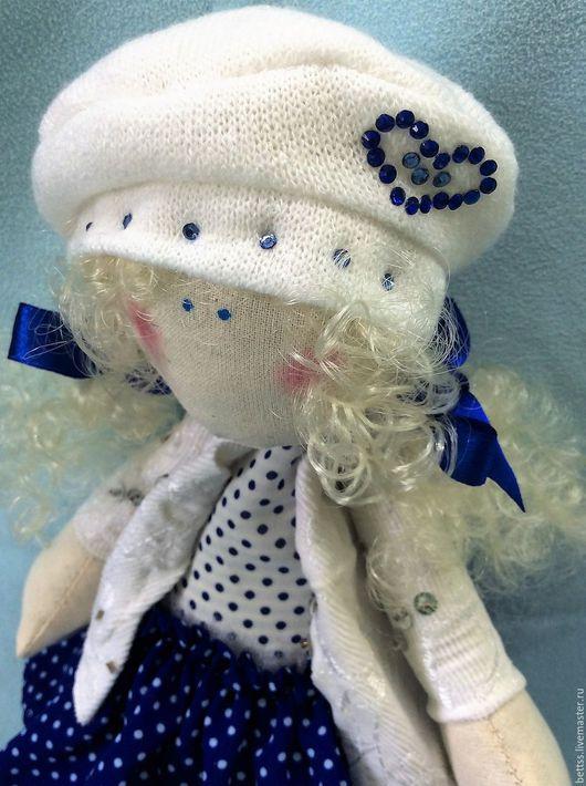 """Куклы тыквоголовки ручной работы. Ярмарка Мастеров - ручная работа. Купить """"Мила"""" текстильная кукла. Handmade. Кукла ручной работы"""