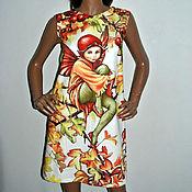 """Одежда ручной работы. Ярмарка Мастеров - ручная работа """"Лесная фея"""" Платье из хлопка. Handmade."""