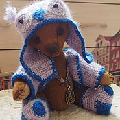 Куклы и игрушки ручной работы. Ярмарка Мастеров - ручная работа Мишка тедди-сова Патрик. Handmade.