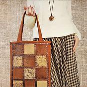 Сумки и аксессуары handmade. Livemaster - original item Shopper, textile bag, large bag (155). Handmade.