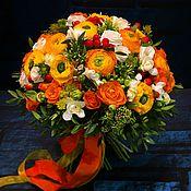 """Букет цветов """"Оранжевое настроение """""""