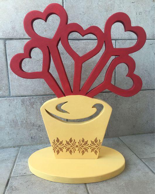 Интерьерные слова ручной работы. Ярмарка Мастеров - ручная работа. Купить Фоторамка ваза. Handmade. Фоторамки, фоторамка, слова из дерева