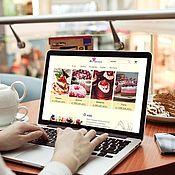 Дизайн ручной работы. Ярмарка Мастеров - ручная работа Дизайн:  Интернет-магазин замороженных десертов для ресторанов. Handmade.