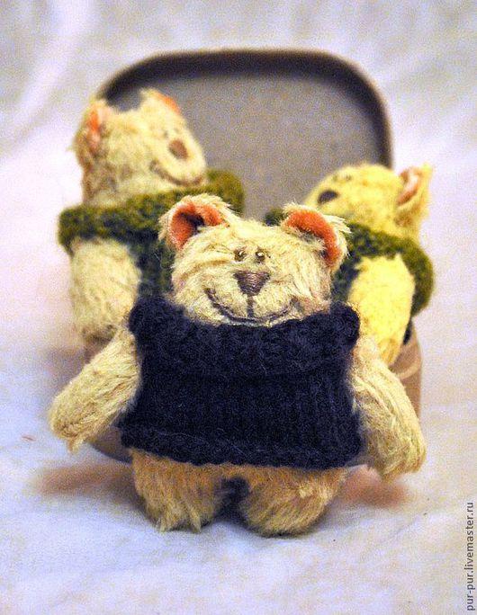 Игрушки животные, ручной работы. Ярмарка Мастеров - ручная работа. Купить Карапузы-компаньоны (Мишки-малышки). Handmade. Мишка