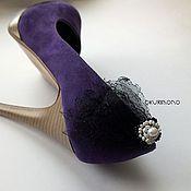 Свадебный салон ручной работы. Ярмарка Мастеров - ручная работа Клипсы для обуви.. Handmade.