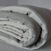 Для дома и интерьера ручной работы. Ярмарка Мастеров - ручная работа Льняное покрывало. Handmade.