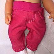 Одежда для кукол ручной работы. Ярмарка Мастеров - ручная работа Одежда для Бэби бон- джинсы. Handmade.