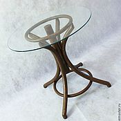Для дома и интерьера handmade. Livemaster - original item Thonet table brown. Handmade.