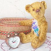 Куклы и игрушки handmade. Livemaster - original item Teddy Bears: Teddy bear cornflower. Handmade.