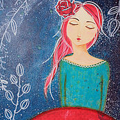 Картины и панно ручной работы. Ярмарка Мастеров - ручная работа Картина Сон Вселенной. Handmade.