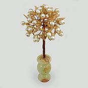 handmade. Livemaster - original item Tree of pearls