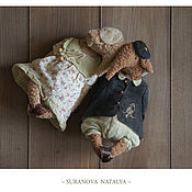 Куклы и игрушки ручной работы. Ярмарка Мастеров - ручная работа Парочка ... Handmade.