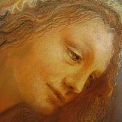 """Картины и панно ручной работы. Ярмарка Мастеров - ручная работа картина пастелью""""Ангельские лики"""". Handmade."""