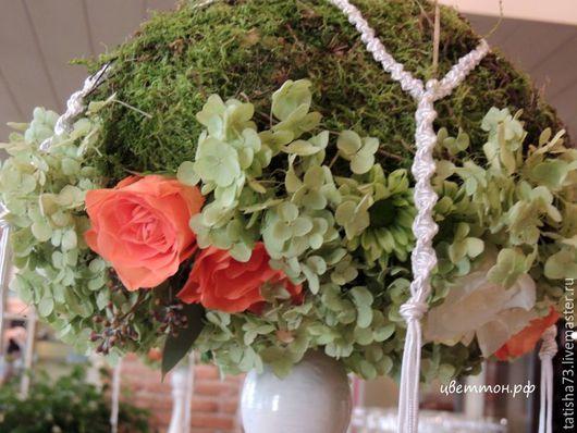 Свадебные цветы ручной работы. Ярмарка Мастеров - ручная работа. Купить Бочка с пряностями. Handmade. Зеленый, свадебное оформление, невеста