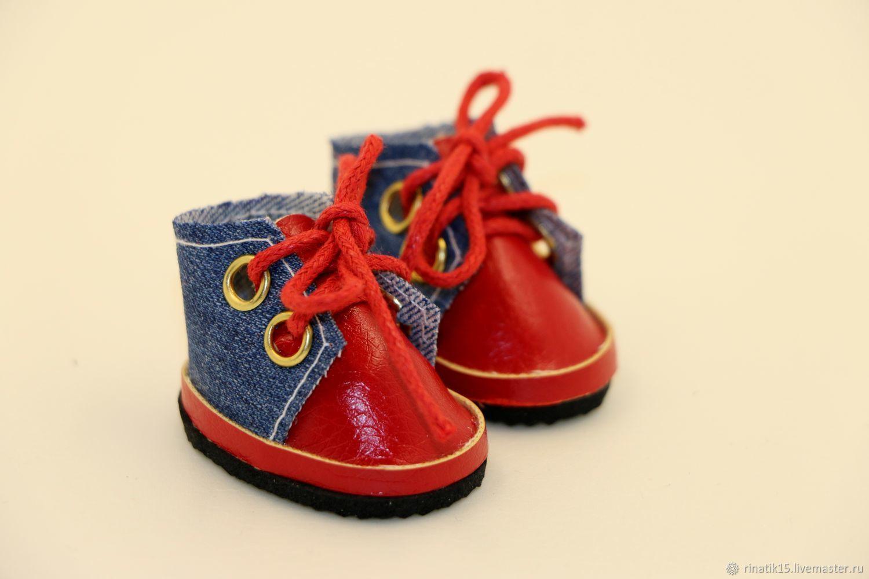 Ботиночки для куклы красные, Одежда для кукол, Симферополь,  Фото №1