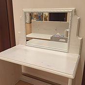 Столы ручной работы. Ярмарка Мастеров - ручная работа Столы: стол с зеркалом, детский. Handmade.