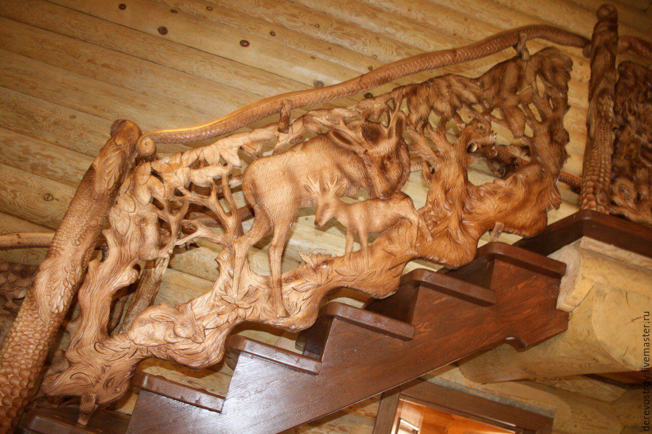 Работы из дерева фото