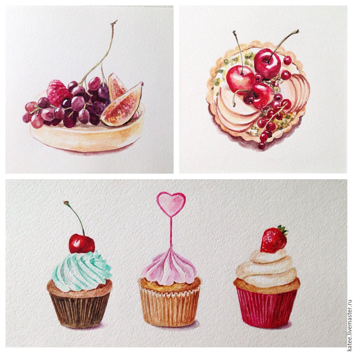 сладости и вкусняшки картинки