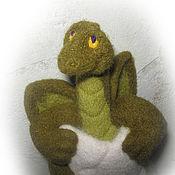"""Куклы и игрушки ручной работы. Ярмарка Мастеров - ручная работа Игрушка """"новорожденный дракончик"""". Handmade."""