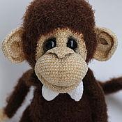 Куклы и игрушки ручной работы. Ярмарка Мастеров - ручная работа Яшик - настоящий обезьян!. Handmade.