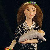 Куклы и игрушки ручной работы. Ярмарка Мастеров - ручная работа Композиция Социальные роли. Handmade.