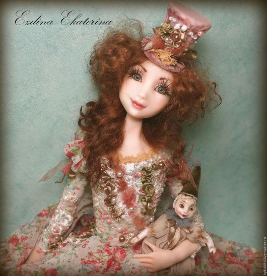Коллекционные куклы ручной работы. Ярмарка Мастеров - ручная работа. Купить По мотивам работы Адэль и любимая кукла. Handmade.