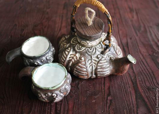 """Чайники, кофейники ручной работы. Ярмарка Мастеров - ручная работа. Купить Чайник семейный """"Нартатэ"""". Handmade. Черный, подарок бабушке"""